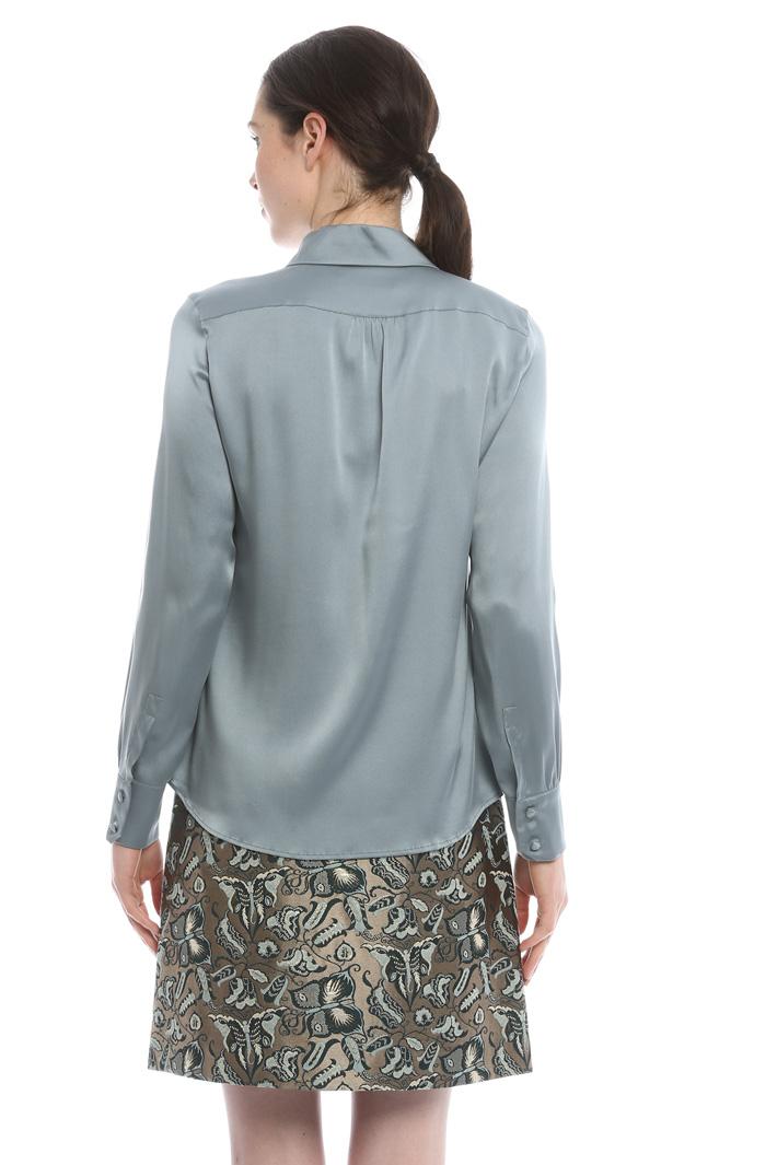 Camicia in raso di seta Diffusione Tessile