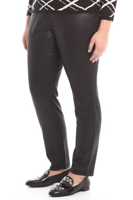 Pantalone in raso spalmato Diffusione Tessile