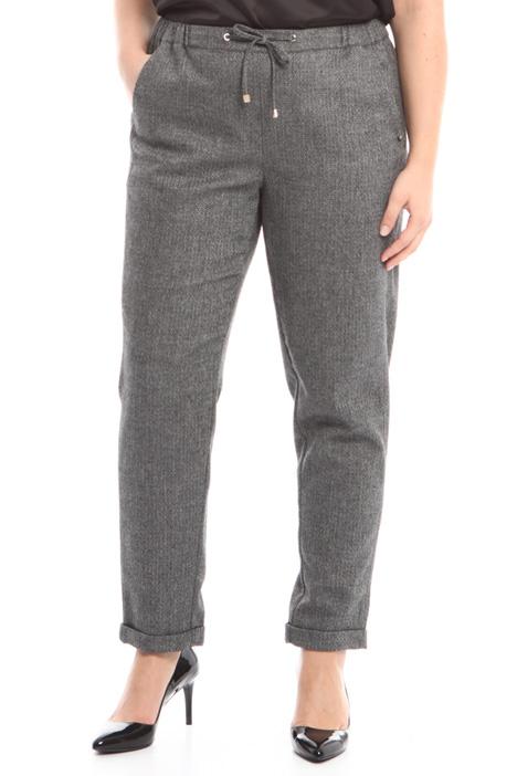 Pantalone jogging in lana Diffusione Tessile