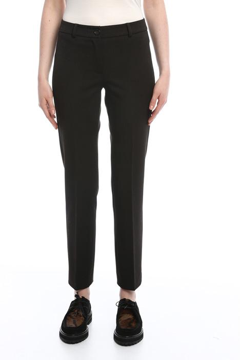 Pantaloni stretch in viscosa Diffusione Tessile