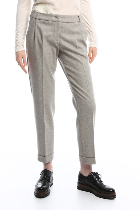 Pantaloni in tweed Diffusione Tessile