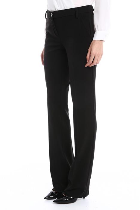 Stretch viscose-blend trousers Diffusione Tessile