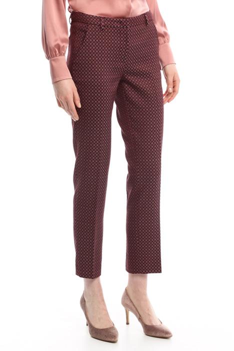 Pantaloni in cotone jacquard Diffusione Tessile