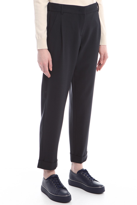 Turn-up trousers Diffusione Tessile