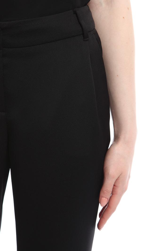 Pantaloni in enver satin Diffusione Tessile