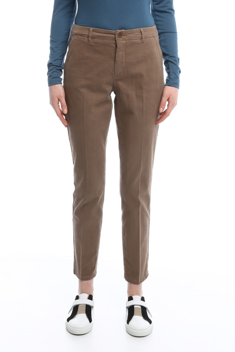 Pantaloni in gabardina Diffusione Tessile