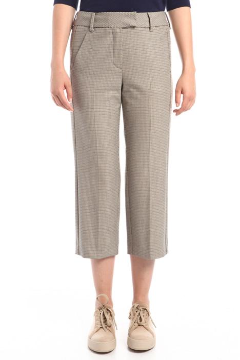 Pantaloni in tinto filo Diffusione Tessile