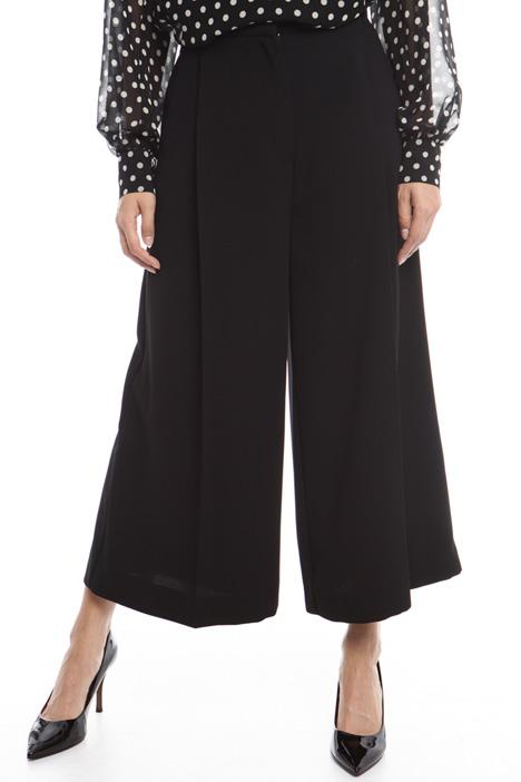 Pantalone ampio in crepe Diffusione Tessile