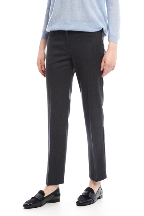 Flannel trousers Diffusione Tessile
