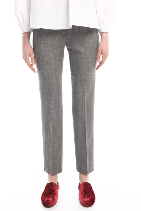Houndstooth trousers Diffusione Tessile