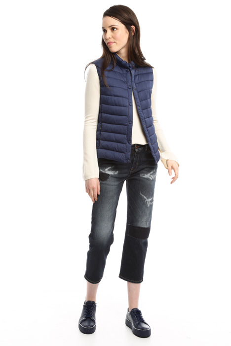 Water resistant satin vest Diffusione Tessile