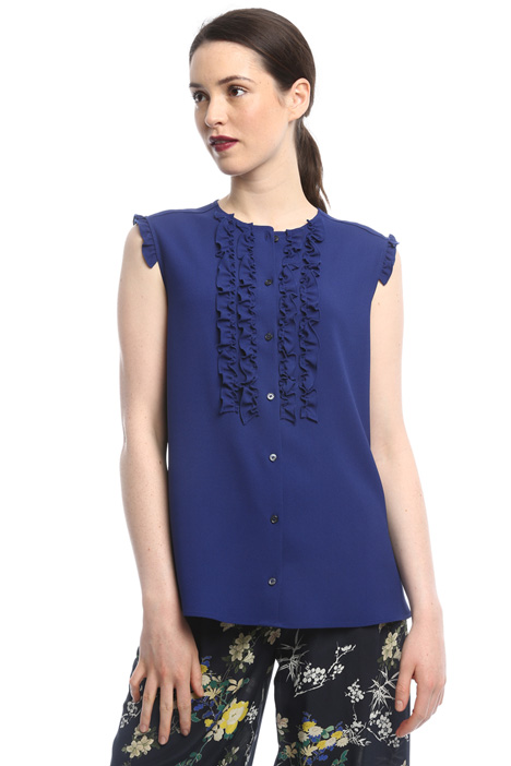 Shirt with frills Intrend