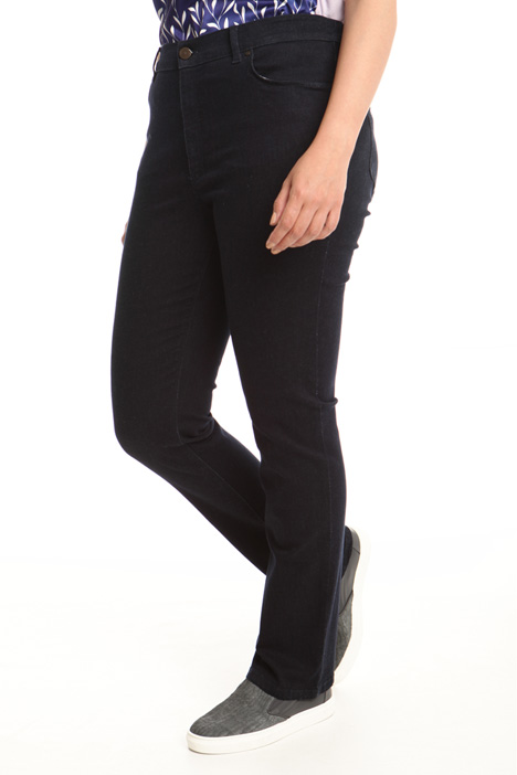Skinny jeans with elastic band Diffusione Tessile