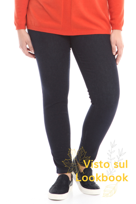 Stretch denim leggings Intrend