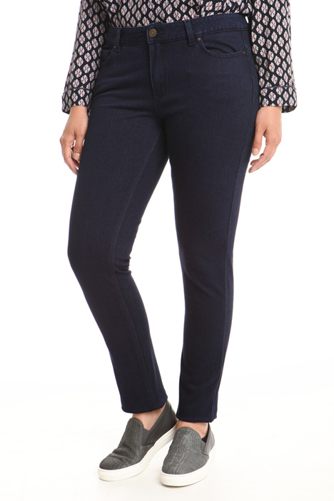 Fiitted denim trousers Diffusione Tessile