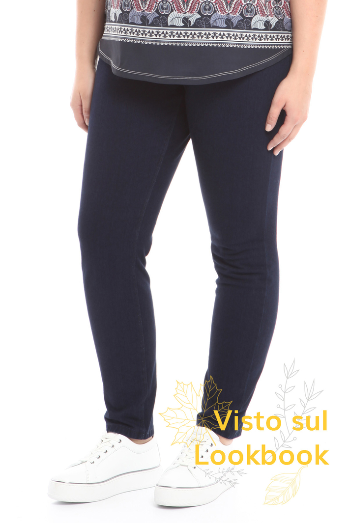 Jeans leggings in denim Diffusione Tessile