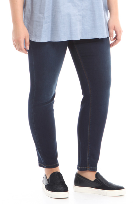 Stretch denim leggings Diffusione Tessile