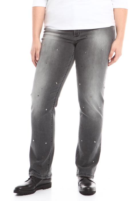 Jeans con strass applicati Diffusione Tessile