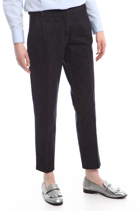 Pantaloni a sigaretta in denim Diffusione Tessile