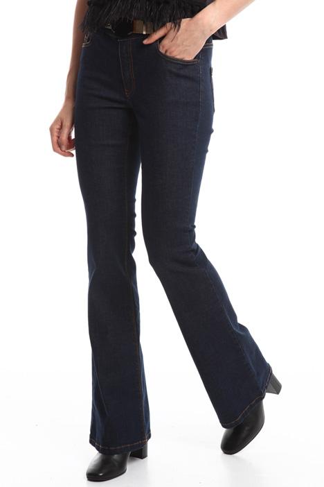 Jeans cinque tasche a zampa Diffusione Tessile