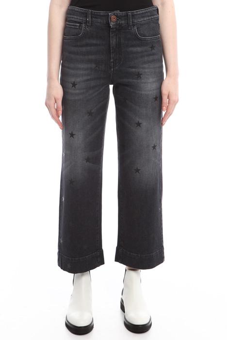 Jeans con stampa fantasia Diffusione Tessile