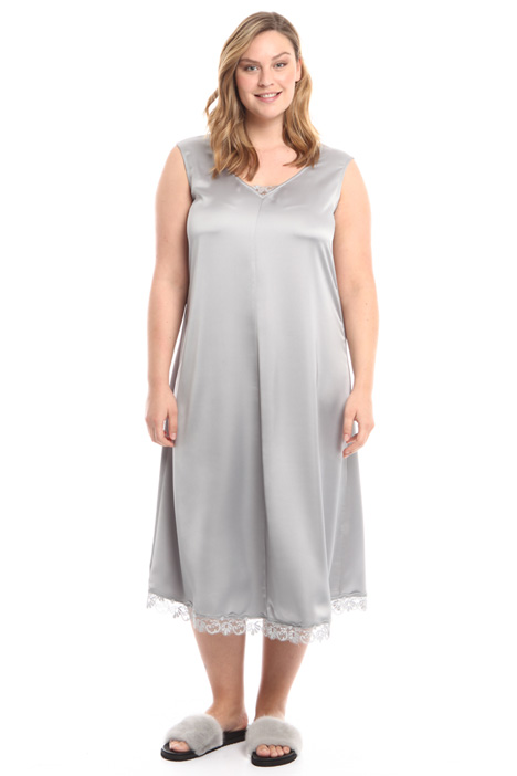 Fluid stretch satin dress Diffusione Tessile
