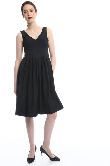 Flared sleeveless dress Diffusione Tessile