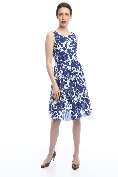 Floral princesse-line dress Diffusione Tessile