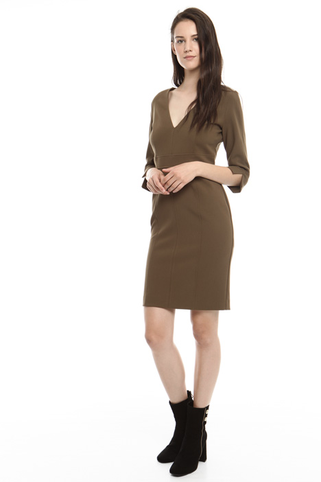 Sheath dress in stretch fabric Diffusione Tessile