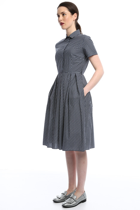 Cotton poplin dress Diffusione Tessile