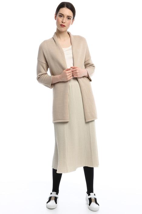 Long cardigan in cordonette Diffusione Tessile