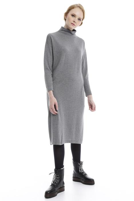 Abito ampio in seta e lana Diffusione Tessile
