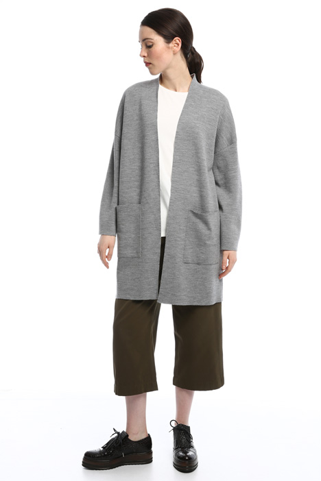 Long cardigan with pockets Intrend