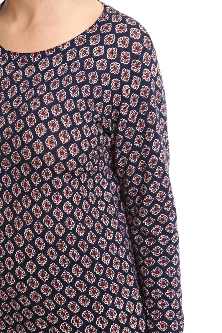 Maglia in pura lana stampata Diffusione Tessile