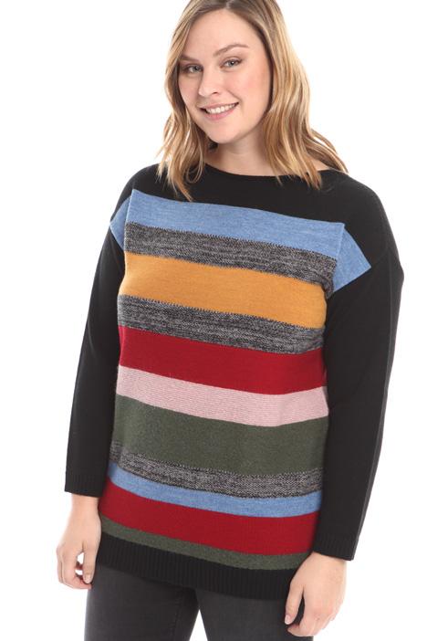 Maglia in lana a righe Diffusione Tessile