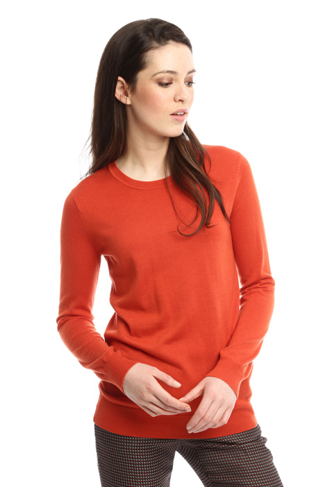 Silk and wool sweater Diffusione Tessile