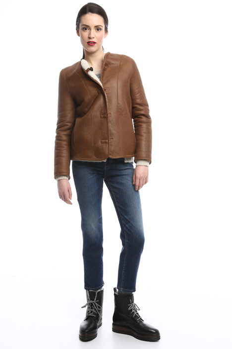 Lined leather jackets Diffusione Tessile