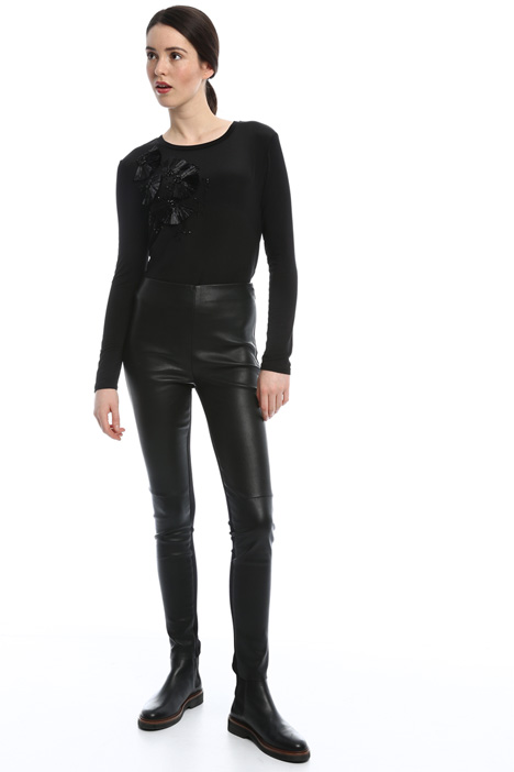 Leather trousers Diffusione Tessile