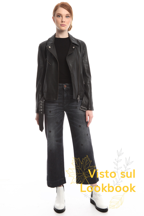 Studded leather jacket Diffusione Tessile