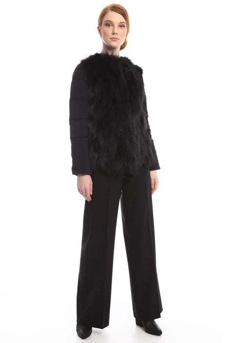 Down-filled fur coat Diffusione Tessile