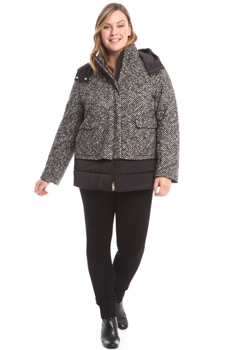 Short fabric-covered jacket Diffusione Tessile