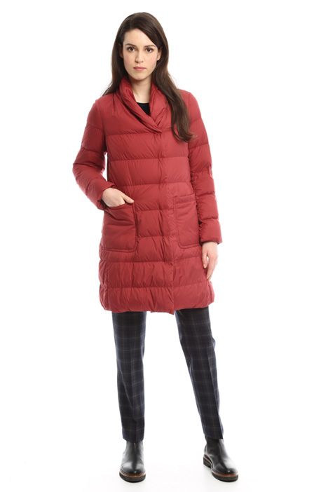 Patch pocket down coat Diffusione Tessile