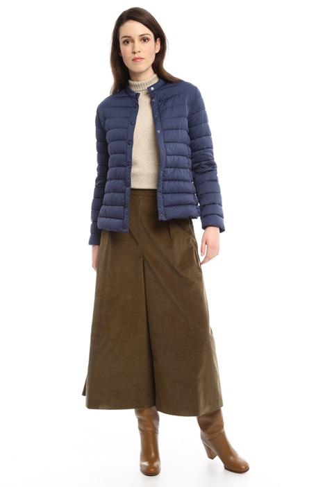 Short satin-effect down jacket Diffusione Tessile