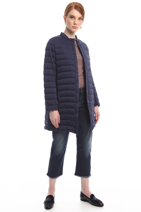 Satin-effect down jacket Diffusione Tessile