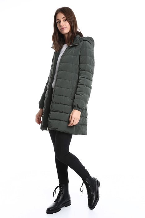 Hooded down coat Diffusione Tessile
