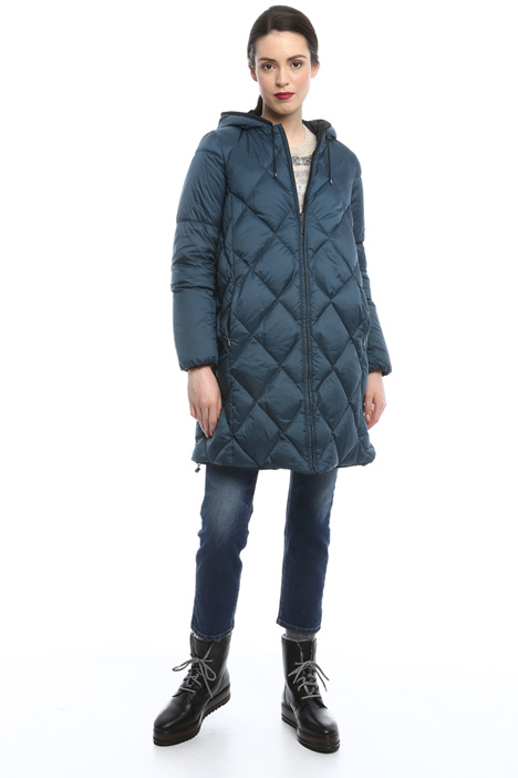 Reversible down-coat Diffusione Tessile