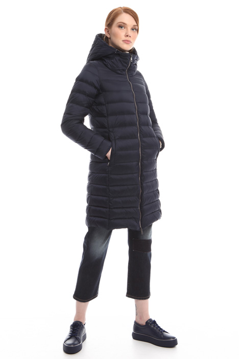 Down coat with zip Diffusione Tessile