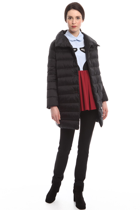 High neck down coat Diffusione Tessile