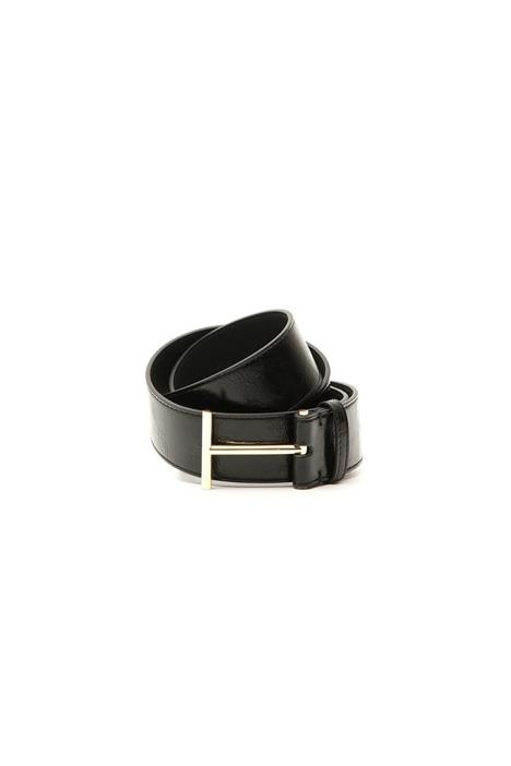 Cintura con fibbia metallica Diffusione Tessile