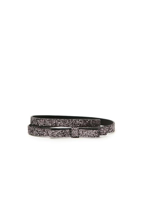 Cintura glitter con fiocco Diffusione Tessile